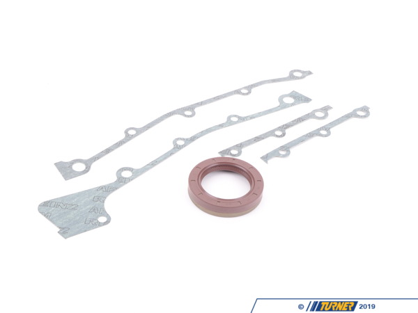 T#2808 - 11141735047 - Timing Case Gasket Set - M30 engine E12 E23 E24 E28 E32 E34 - Victor Reinz - BMW