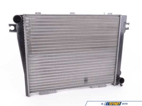 T#45716 - 17111712447 - OEM Behr Radiator - E28 535i E24 635csi - Manual Transmission - Hella -