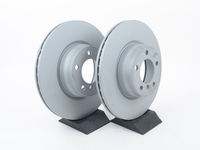 T#390971 - 34116792221zKT - Front Brake Rotors (330x24) - Pair - Zimmermann - BMW