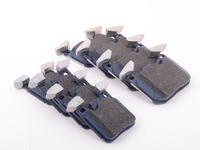 Front And Rear Cool Carbon S/T Performance Brake Pad Set