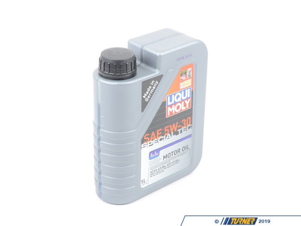 T#394670 - 2248 - Liqui Moly Special Tec LL 5W-30 Motor Oil - 1 Liter  - Liqui Moly is an official sponsor of Turner Motorsport. We work closely with Liqui Moly to ensure your BMW is receiving optimal lubrication!  Select your vehicle to make sure you are viewing the best Liqui Moly options for your application.Special Tec LL engine oil is designed to provide the highest amount of engine protection as well as fuel savings and reduced oil consumption possible. Using proprietary blends of base oils and the latest additive technology, this oil will ensure smooth engines in both high and low temperatures. Other amazing benefits include:optimum oil pressure at all speeds, rapid oil delivery at low oil temperatures, high shear and aging stability, and long service life.Approved for:BMW Longlife-01VW 502 00VW 505 00MB-Freigabe 229.5Liqui-Moly is a German chemical company that offers top of the line engine oils, additives, and car care products that are designed to extend the life of your engine and ensure the best lubrication and cleanliness off engine and transmission components possible. With more than 50 years of experience and reviews across the world from magazines and race teams, Liqui-Moly proves time and time again why they are one of the most innovative lead forces of performance automotive chemicals in the world. - Liqui-Moly - BMW MINI