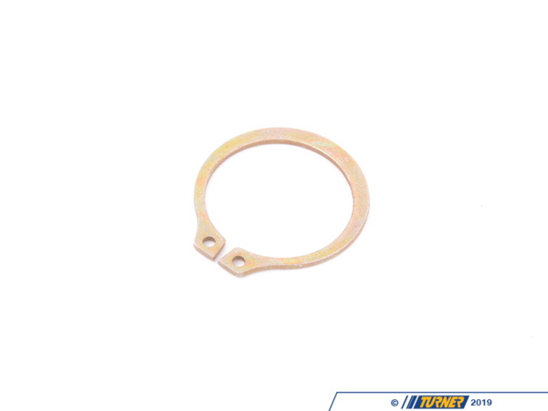 "T#300449 - 98410A143 - EXTERNAL RETAINING RING, 1 1/8"" SHAFT DIAMETER, ZINC-PLATED STEEL - Bremmen Parts -"