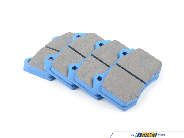 Hawk Brembo Calipers Lotus, A, C, F - Race Brake Pad Set - Hawk Blue 9012 TMS2507