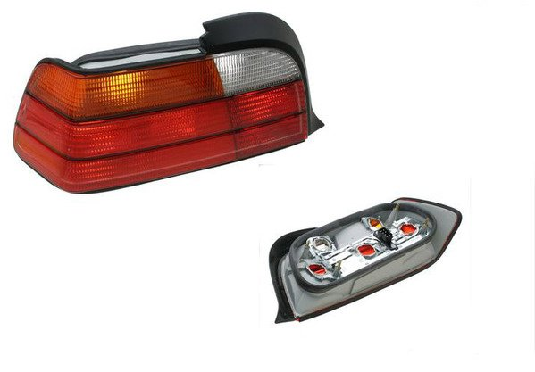 T#4570 - 63218353273 - Tail Light - Left - E36 2 Door - 323is 325is 328is M3 - Magneti Marelli - BMW