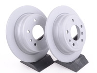 Rear Brake Rotors - E24 633CSi/M6 & E28 528e/533i/535i/M5 (Pair)