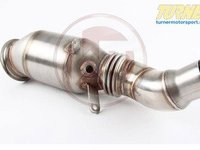 T#555251 - 500001011KT1 - Wagner Downpipe With Sport Cat - N20 - F30 320i 328i, F32 428i F22 228i - Wagner Tuning - BMW