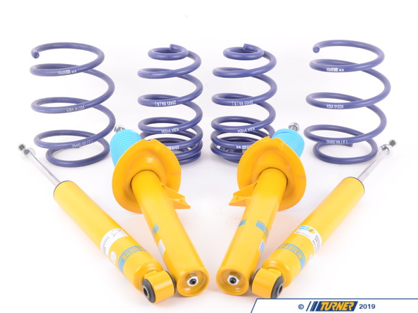 T#3645 - E46SPORTSUSP - E46 323/325/328/330i/ci H&R/Bilstein Sport Suspension Package - Packaged by Turner -