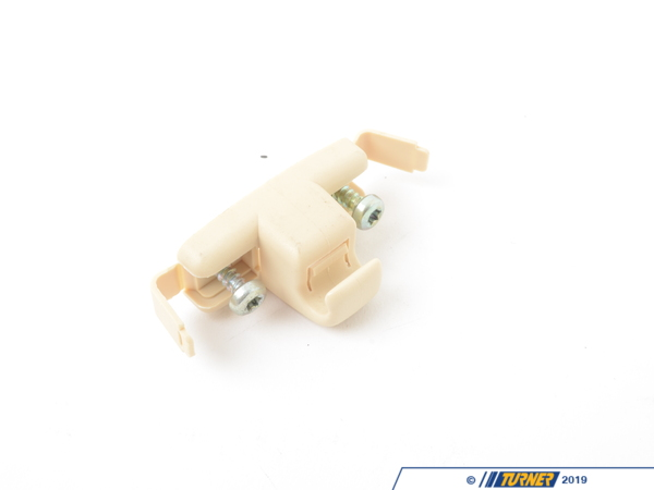 T#86332 - 51168250922 - Genuine BMW Sun Visor Bracket Pearlbeige - 51168250922 - E38,E39 - Genuine BMW -