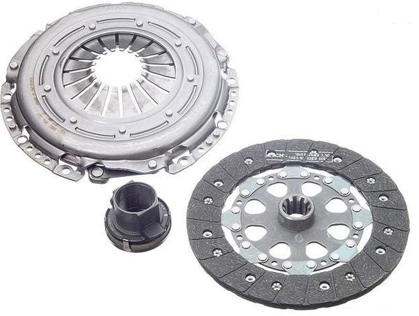 T#1797 - 21207551576 - Clutch Kit - E46 325i (M54), E60 525i, Z4 2.5i with SMG Transmission - OEM Sachs Clutch Kit for E46 325i manual M54 3/03-05, E46 325i manual M56 04-05, E60 525i manual, Z4 2.5i manual 10/04-05. This is a complete kit, including clutch disc, pressure plate, throw-out bearing, and clutch alignment tool.Fits the below models with manual transmission only:2004-2005 E46 325i, 325ci with M54 engine - sedan, coupe, wagon, cabrio2004-2005 E46 325i sedan with M56 engine10/2003-2005 Z4 2.5i - Genuine BMW - BMW