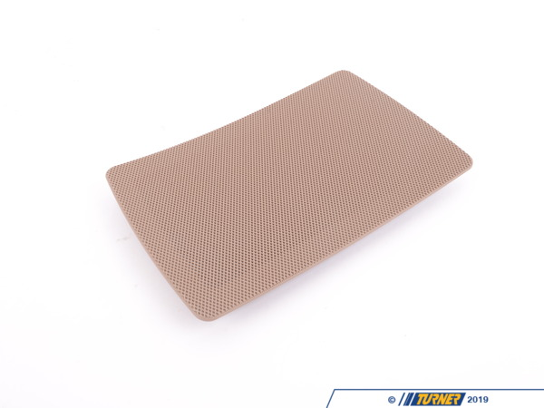 T#113342 - 51478257092 - Genuine BMW Cover F Right Loudspeaker Hellbeige - 51478257092 - E46 - Genuine BMW -