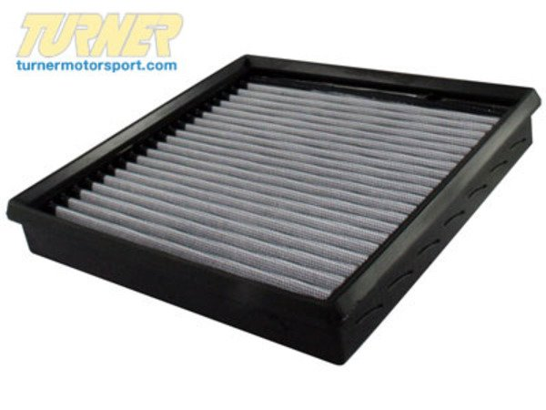 "T#2654 - 31-10046 - aFe ProDry S Air Filter - E36 318i 318is 318ti, Z3 1.9 - This is a drop-in stock replacement aFe performance air filter that installs into your BMW's factory airbox. This particular filter fits the following BMWs:E36 3 series: 318i 318is 318ic 318ti 1992-1998Z3 : Z3 1.9This version has an oil-free filter media for less maintenance. For the best flowing filter, with the best performance gain, we always recommend the standard aFe ""Pro5R "" filter (which has a blue pre-oiled filter media), but this oil-free filter flows only slightly less than the blue Pro5R style aFe filter, and requires no re-oiling after cleaning the filter.Since 1999, aFe (Advanced FLOW Engineering) has been developing and manufacturinghigh qualityaccessories in their facility in Corona, California. Starting with air filters and intake systems, and now expanding into exhaust systems, suspension components, tuning modules, and more, aFe products are a great way to improve the performance of your BMW without altering its fundamentalcharacter.Owned by a BMW enthusiast,aFe poweris recognizedthe world over as a leader in quality performance products for your BMW.Constructed with 100% polyurethaneTwo layers of progressively finer mesh synthetic mediaWashable and reusable for multiple cleaning cyclesExcellent dust-holding capacity for a longer service cycle between cleaningsIntegrated urethane bump seal insures a tight, no leak sealOutflows stock paper filter for improved horsepower and torque - AFE - BMW"