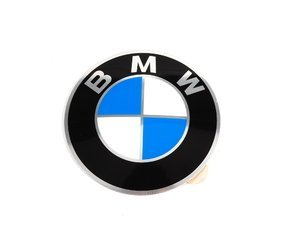 Wheel Emblem - Adhesive Backed - 64.5mm - Convex