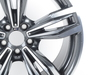 T#181246 - 36112284451 - Genuine BMW Gloss-turned Light Alloy Rim - 36112284451 - Genuine BMW -