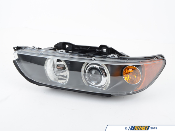 Hella Headlight - Xenon - Right - E39 525i, 530i 540i M5 2001-2003 63126912434