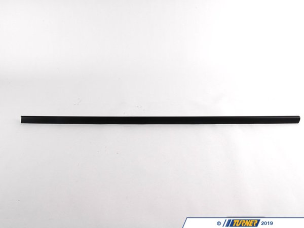 T#8779 - 51138208449 - Genuine BMW Moulding Door Front Left Schwarz - 51138208449 - E46 - Genuine BMW -