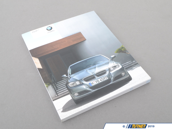 T#26208 - 01402606926 - Genuine BMW Owner's Manual E90, E91 W/O Idrive - 01402606926 - E90 - Genuine BMW -