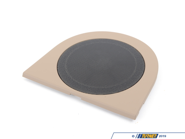 T#105172 - 51438413554 - Genuine BMW Cover F Right Loudspeaker Beige - 51438413554 - Genuine BMW -