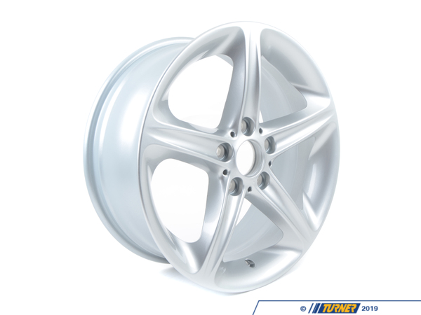 T#66511 - 36116779800 - Genuine BMW Light Alloy Rim 71/2Jx18 Et:49 - 36116779800 - E82 - Genuine BMW - BMW