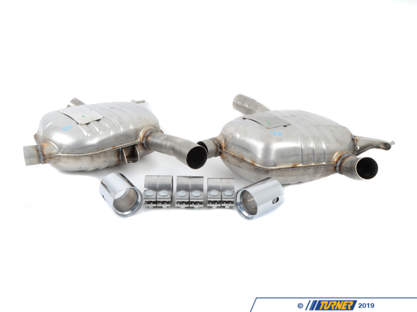 T#215885 - 18102410681 - Genuine BMW Muffler System - 18102410681 - Genuine BMW -
