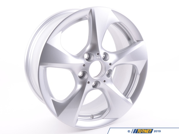 T#66724 - 36116797518 - Genuine BMW Alloy Rim Right 71/2Jx17 Et:47 - 36116797518 - E82 - Genuine BMW - BMW