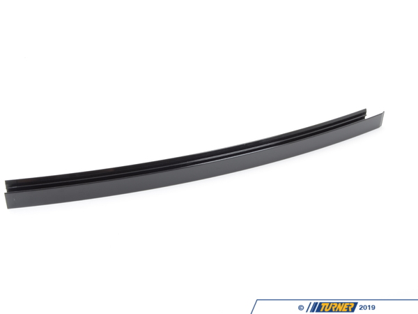 T#94413 - 51357185235 - Genuine BMW Window Guide Web Cover Left - 51357185235 - Gloss Black - Genuine BMW -
