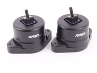T#393715 - 002445TMS02 - Turner 80A Polyurethane Engine Mount Set - N52 N54 N55 - Turner Motorsport - BMW