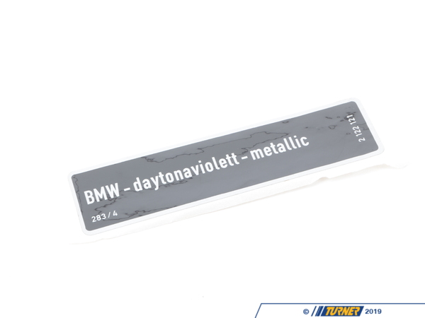 T#156655 - 71212122121 - Genuine BMW Label Daytonavio.-Met - 71212122121 - E34,E34 M5 - Genuine BMW -
