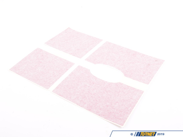 T#81053 - 51142759671 - Genuine MINI Set, Decor Stripes, Trunk Lid Jcw Red - 51142759671 - Genuine MINI -