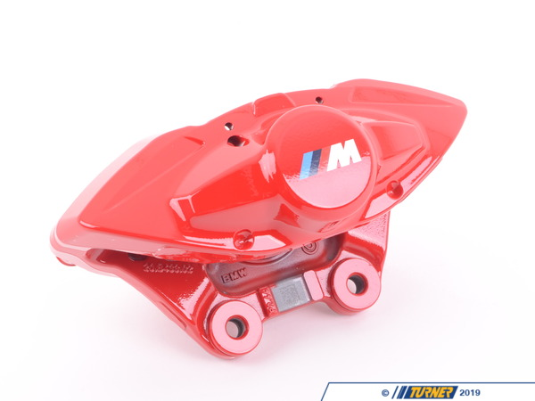T#61979 - 34206855483 - Genuine BMW Brake Caliper Housing, Red, - 34206855483 - Genuine BMW -