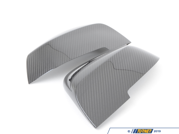 T#14311 - 51162211904-905 - Genuine BMW Carbon Fiber Mirror Covers - F30 328i, 335i 2012+, F32 428i, 435i, F22 228i, M235i - Genuine BMW - BMW Mercedes Benz