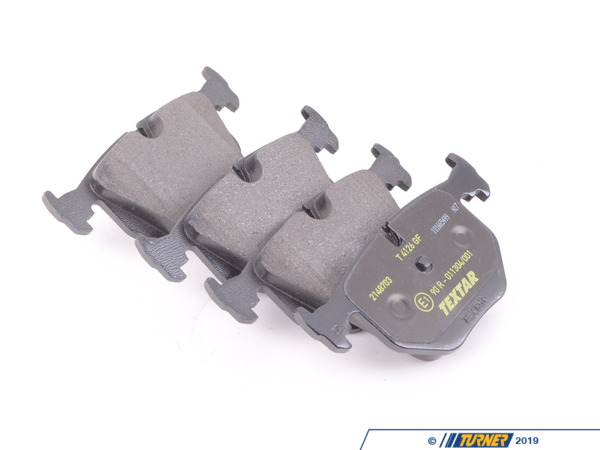Textar Rear Brake Pad Set 34216761248