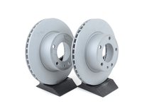 Front Brake Rotors - E24 633CSi, E28 535i (Pair)
