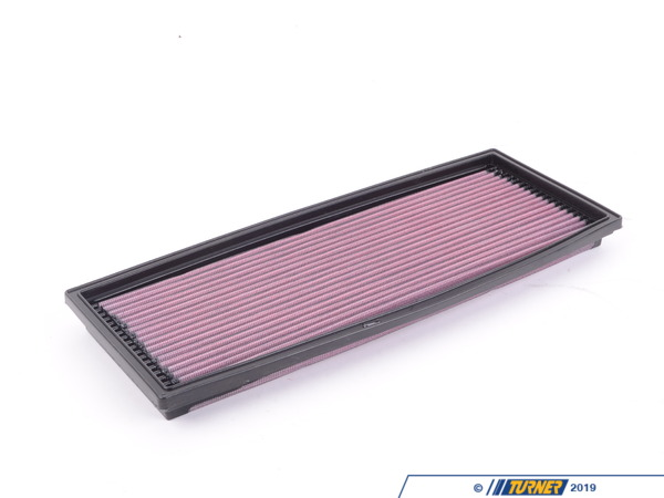 T#4105 - 33-2573 - E32 735i 1988-93, E34 535i 1989-93 K&N High Flow Air Filter - This is absolutely the least expensive and easiest way to improve horsepower and extend the life of your air filter! - K&N - BMW