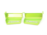 aFe Dynamic Air Scoops (DAS) - E82/E88 1 Series 128i & 135i - Green