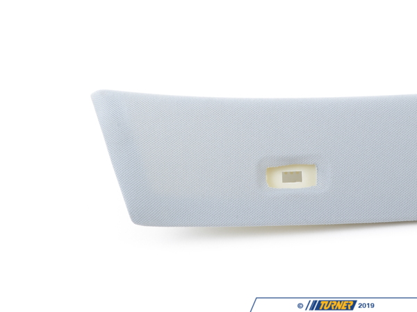 T#102872 - 51436978630 - Genuine BMW Right Column A Cover Alaskagrau - 51436978630 - E82 - Genuine BMW -