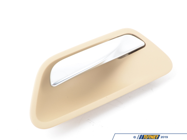 T#97433 - 51417279345 - Genuine BMW Door Handle, Inside Left - 51417279345 - Venetobeige - Genuine BMW -