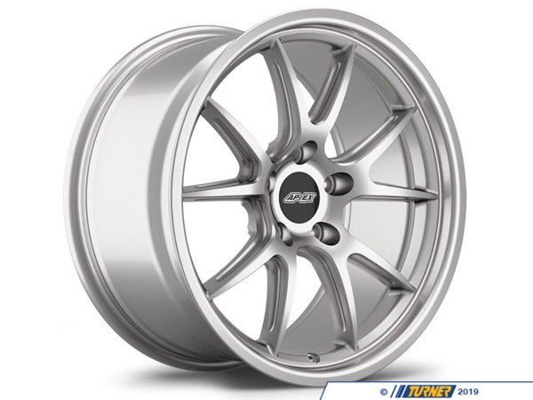 "T#394117 - FL5APEXSTG1 - APEX FL-5 18x8.5""/9.0"" Mild Staggered Wheel Set - The new FL-5 is the first APEX design that uses both Flow Forming construction, remaining one solid piece, and a new ""I"" beam machining technique. This new ""I"" beam machining process mills out a slight amount of material in the spokes to both reduce weight and add visual appeal with a feature normally only found on some of the most expensive race wheels.18x8.5"" FL-5 weight:approximately 19lbs18x9"" FL-5 weight:approximately 20lbsAPEX light alloy wheels are the next evolution in flow-forged wheel technology for BMWs. Flow-forming is a semi-forging process that produces a wheel typically stronger than a traditional cast wheel yet is still light weight. The wheels are around 10lbs lighter per wheel than a comparable factory wheel! That's reduced unsprung weight that improves all aspects of performance. The spokes and barrel have been designed to allow generous clearance for big brakes. In other words, these wheels are very impressively engineered and look great too! The design is based on classic motorsport themes that blend with BMW styling and appearance. These wheels look right at home on many BMW models. Multiple color and profile options allow you to set just the right look and stance for your car. As well as being pleasing to the eye these are very strong and functional wheels that are at home on the street as well as the racetrack. Don't let the price fool you - these wheels are high quality, high strength, and in high demand.Note: careful consideration of wheel width, offset and tire sizing must be observed when choosing and installing larger wheels. Adding larger wheels may lead to rubbing on suspension components or bodywork. Wheel spacers, new alignment settings, inside fender modifications, or other adjustments may be required. - APEX Wheels - BMW"