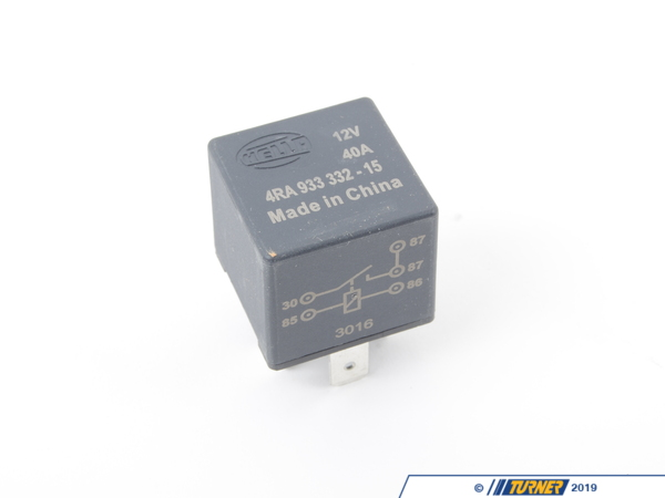 T#7175 - 12631708646 - OEM BMW Engine Electrical Diode Relay 12631708646 - Hella -