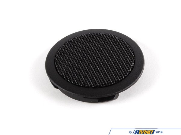 T#104617 - 51438172975 - Genuine BMW Loudspeaker Cover Schwarz - 51438172975 - E36 - Genuine BMW -