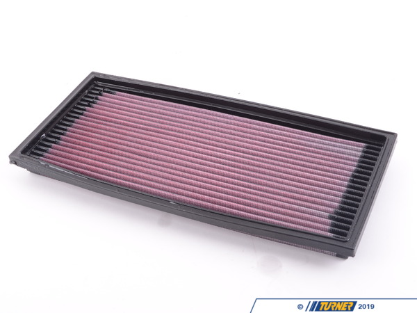 T#4010 - 33-2078 - E34 525i/M5 1991-95 K&N High Flow Air Filter - This is absolutely the least expensive and easiest way to improve horsepower and extend the life of your air filter! - K&N - BMW