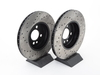 T#12153 - 34116774986CD - Cross-Drilled Brake Rotors - Front - MINI Cooper S R56 2007+ (pair) - StopTech - MINI