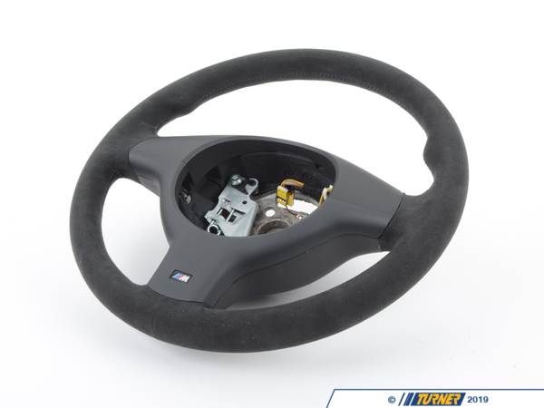 T#737 - 32347919217 - BMW Motorsport E46 Sport Alcantara Steering Wheel - Genuine BMW - BMW