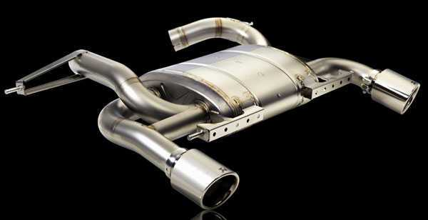 T#3021 - TMS3021 - Akrapovic Slip-On Stainless Steel Exhaust System - E90 E92 335i 335xi - Akrapovic - BMW