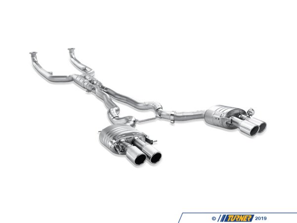 T#340344 - TMS12185 - Akrapovic Evolution Titanium Exhaust System - F10 M5 - Akrapovic - BMW