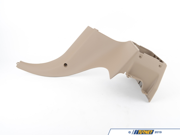 T#105146 - 51438407210 - Genuine BMW Lateral Trim Panel Bottom Rear Right Beige - 51438407210 - Genuine BMW -