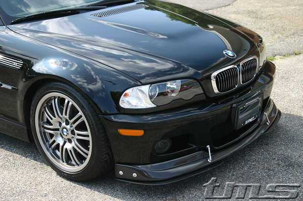 T#656 - E46M3CFSPLIT - Carbon Fiber Front Splitter for E46M3 - Turner Motorsport - BMW