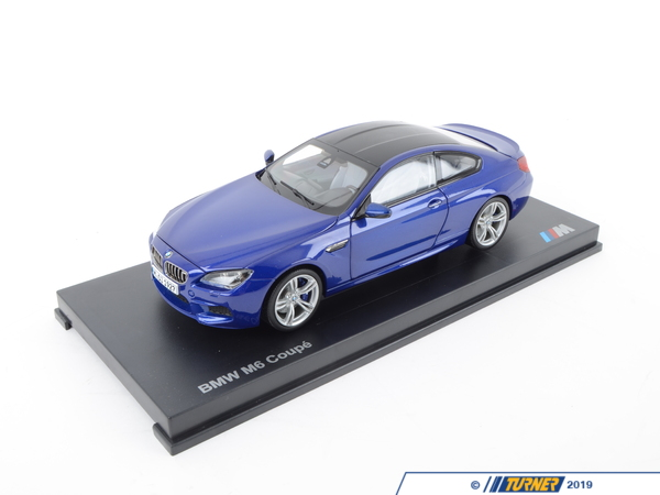 T#176851 - 80432218737 - Genuine BMW Miniature M6 1:18 F13 Coupe M6 Blue - 80432218737 - Genuine BMW -