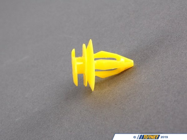 T#24009 - 51418172050 - Genuine BMW Clip, Yellow - 51418172050 - E39,E39 M5 - Genuine BMW -