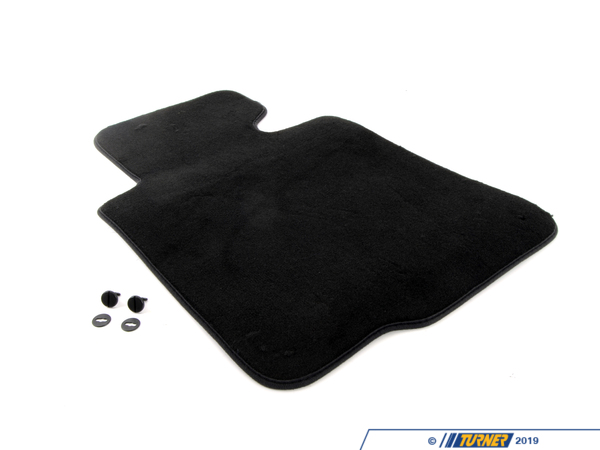 T#111190 - 51477007843 - Genuine BMW Floor Mat Velours Driver Sid - 51477007843 - Anthrazit - Genuine BMW -