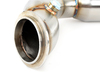 "T#399313 - 000932TMS - Turner Motorsport 3"" High-Flow Catted Downpipes - E9x 335i, 335is, E82/88 135i, 1M (N54) - Turner Motorsport - BMW"